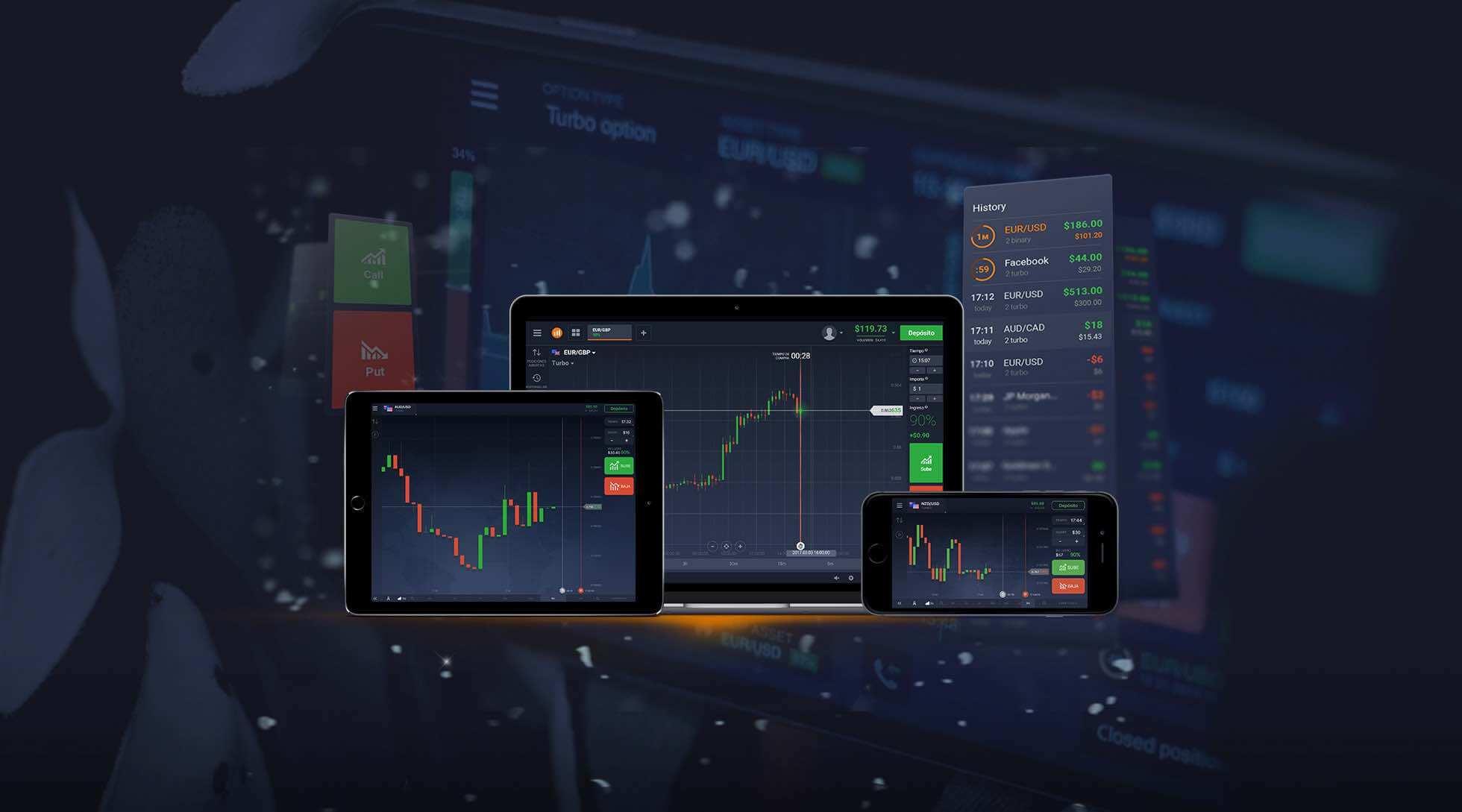 broker option app iphone