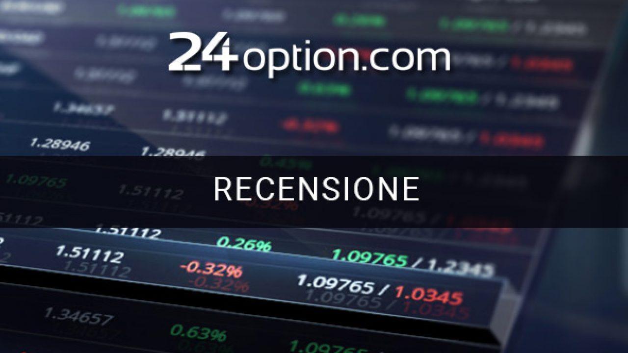 24option Opinioni: Truffa o è un broker sicuro?
