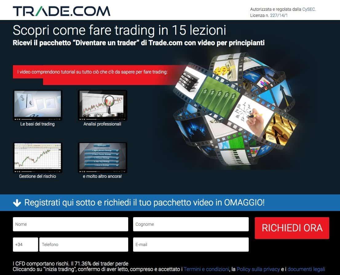 sito piu usato x fare trade