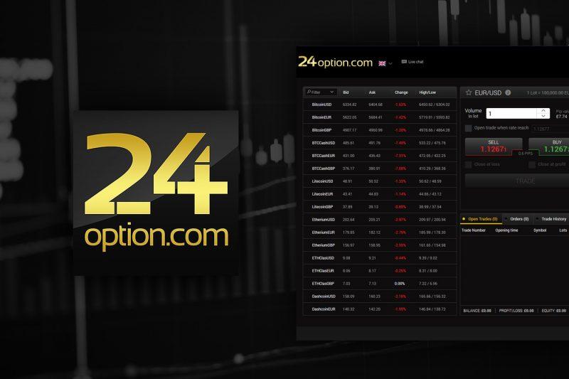 Miglior broker opzioni binarie: 24option
