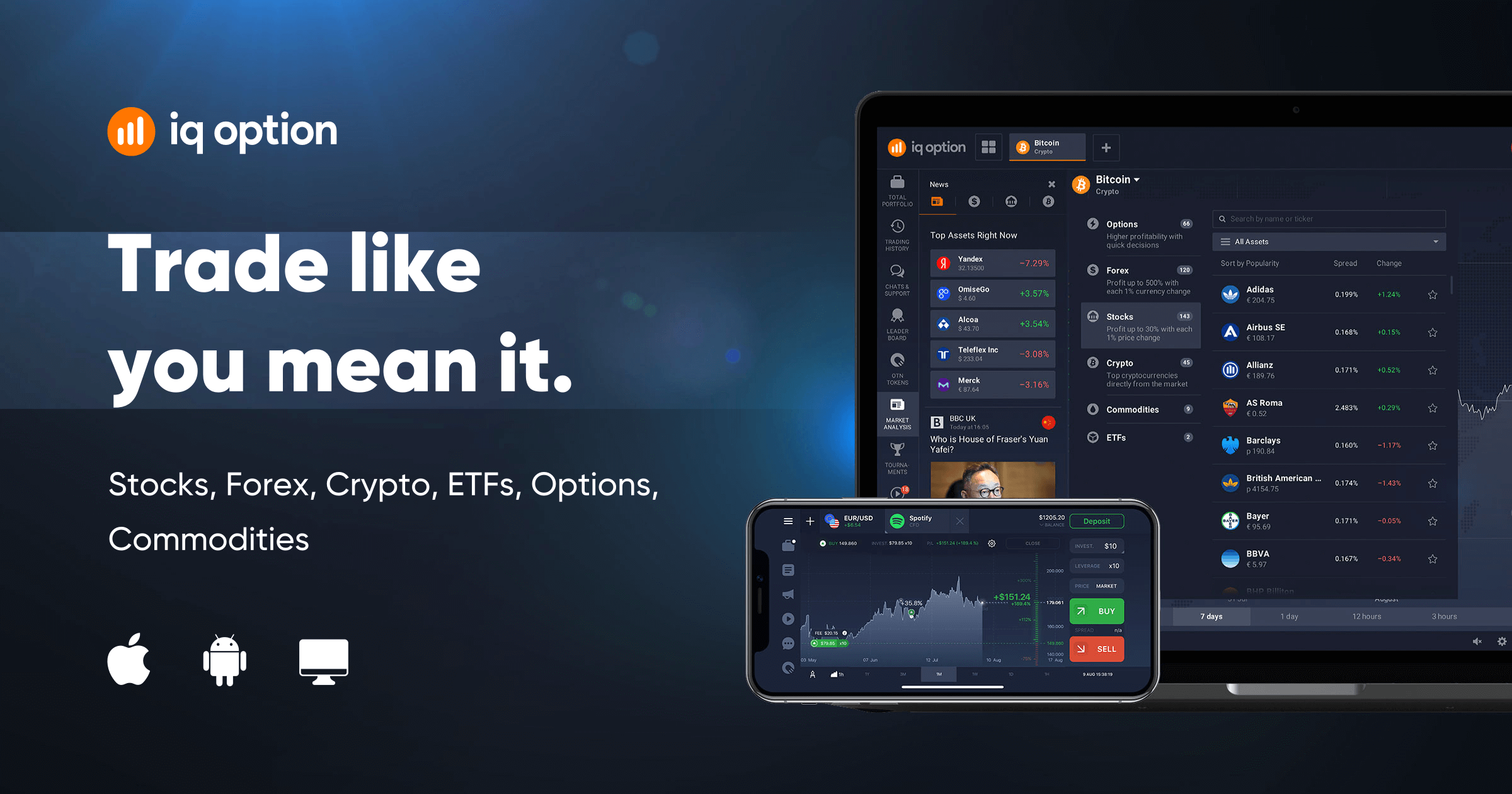 Iq option robot app.