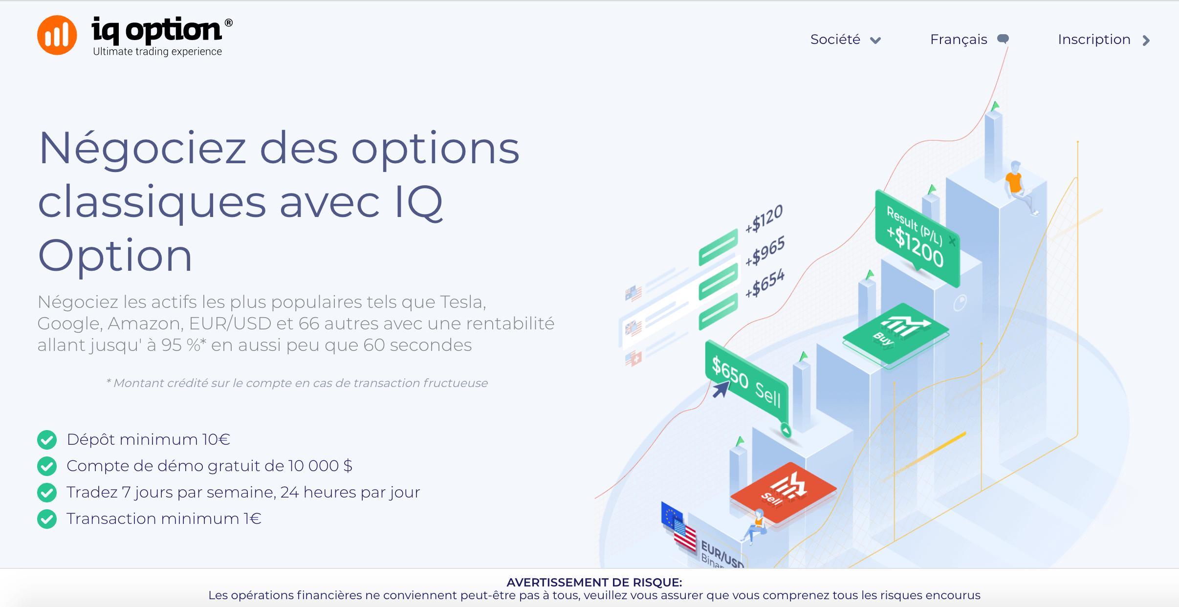 option binaire gratuit sans depot