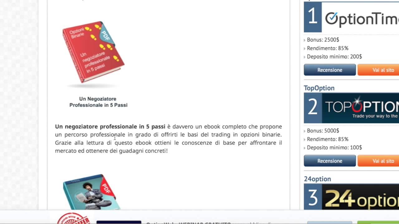 libri online sul trading opzioni binarie lavoro da casa manuale campania