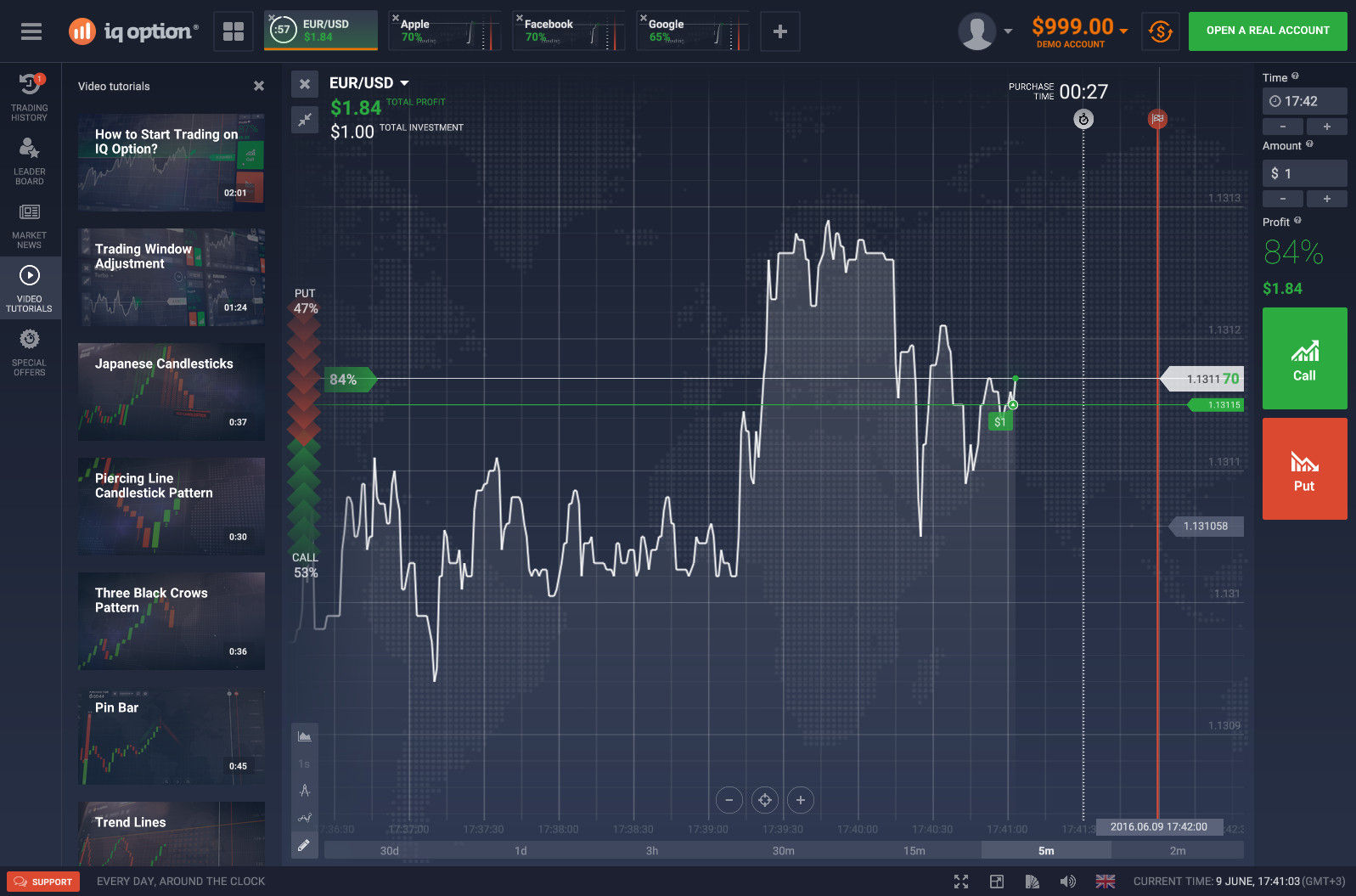 iq option opinioni usdrub