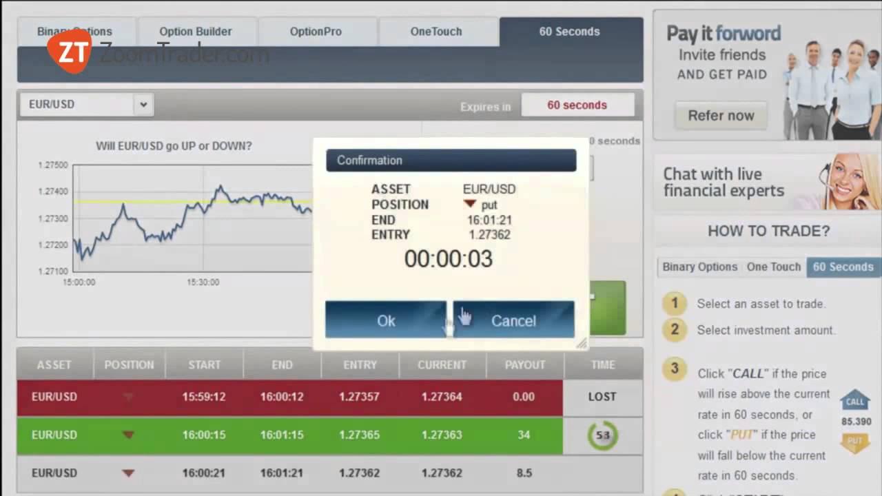 binary soluzione per trading qual e lorario migliore per fare trading on line 60sec