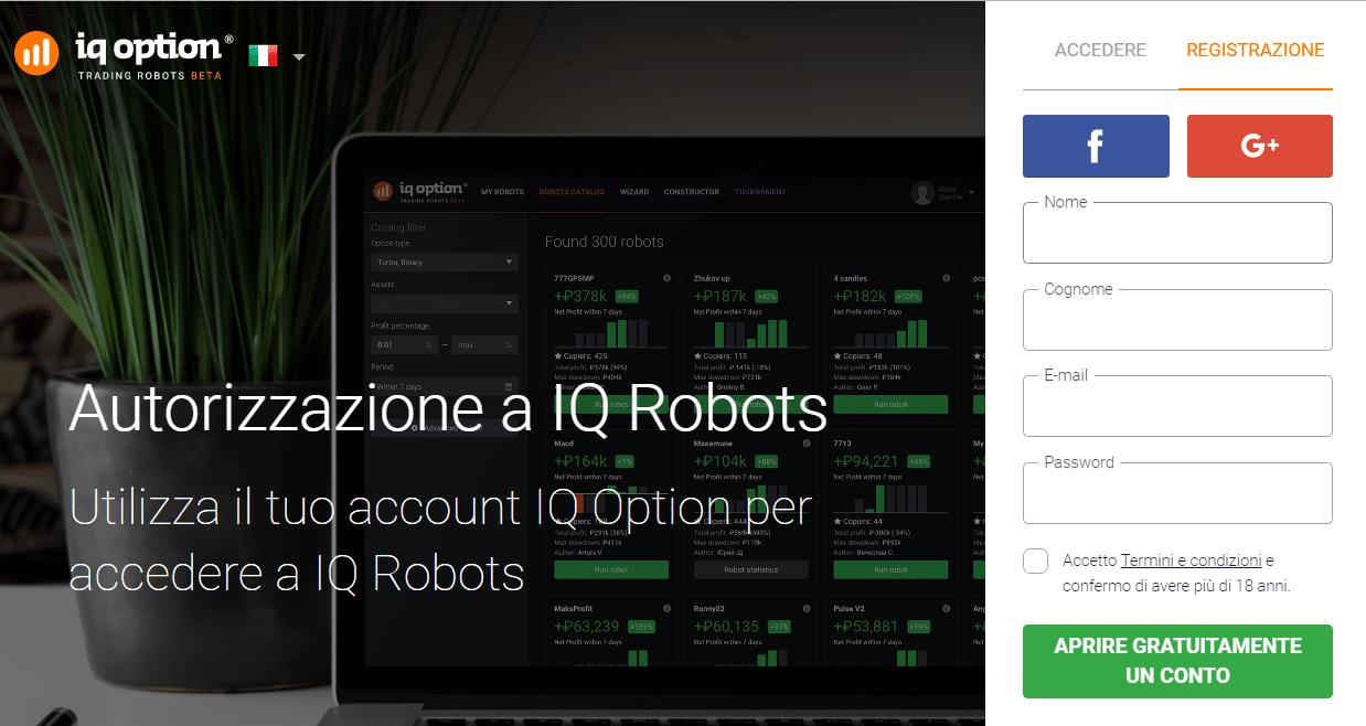 creare un robot per opzioni binarie mejor libro de forex