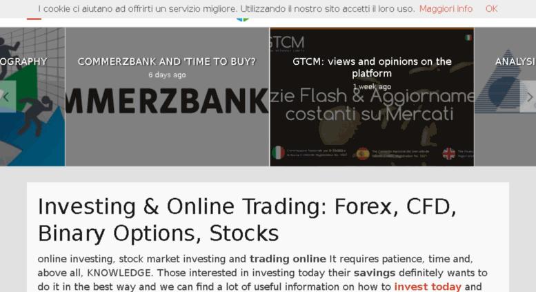 investimenti on line