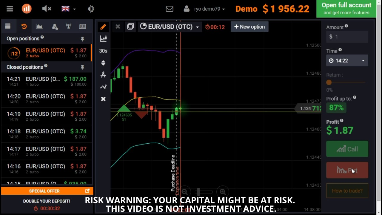 iq options video demo