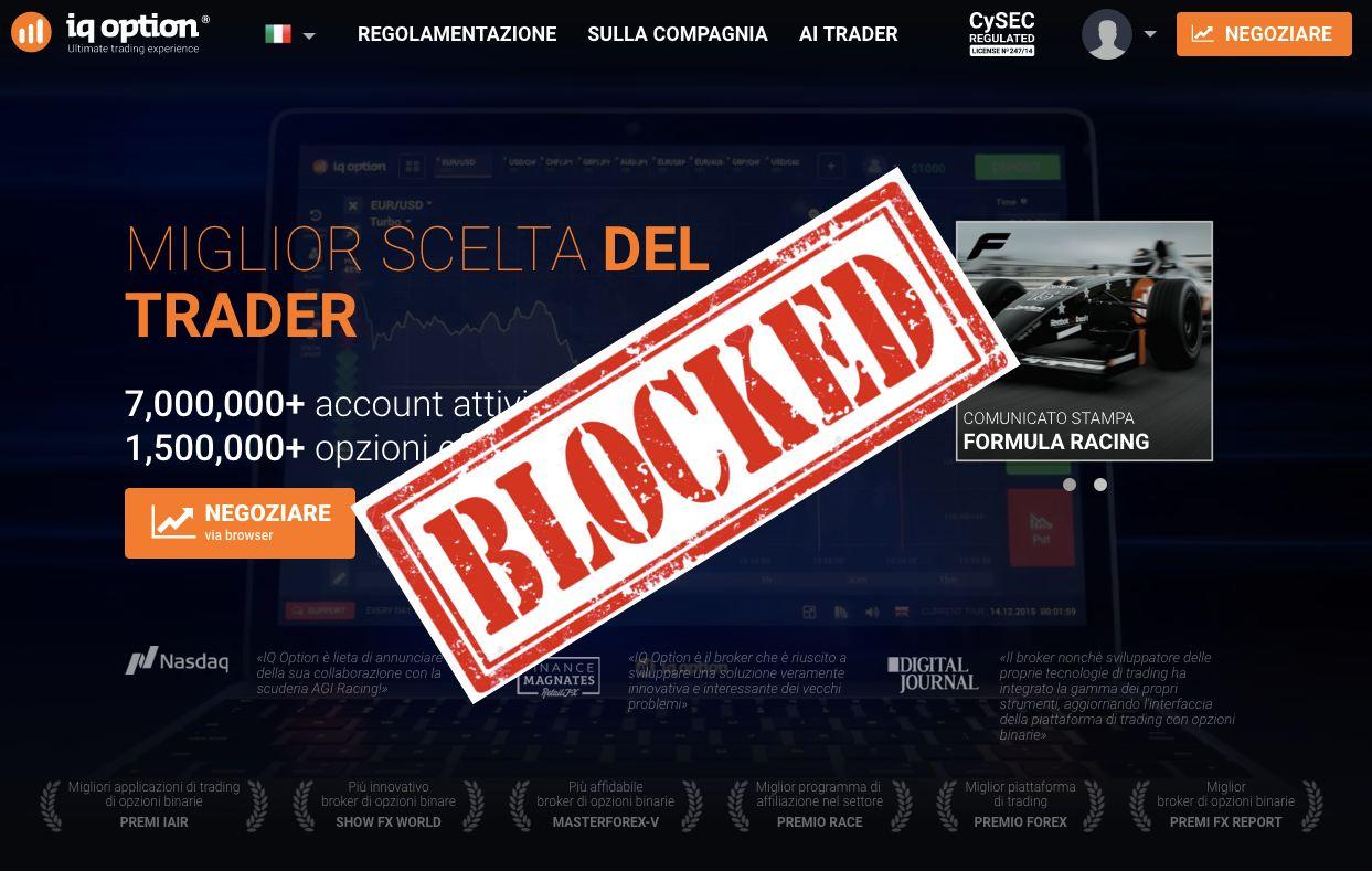 Lista nera (blacklist) AMF: broker Forex non regolamentati – 2019