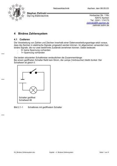 binares zahlensystem
