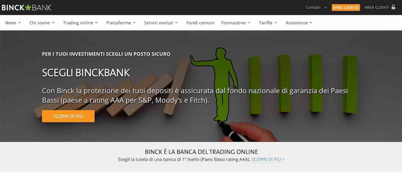 binckbank conto demo