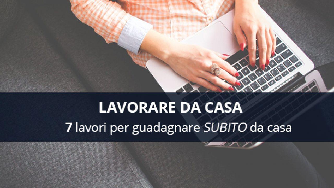 Annunci telelavoro - lavorare da casa in Italia