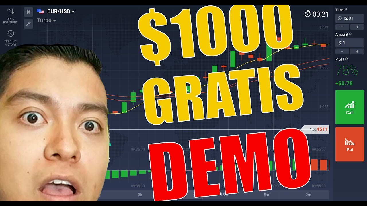 iqoption demo gratis azionidinarie