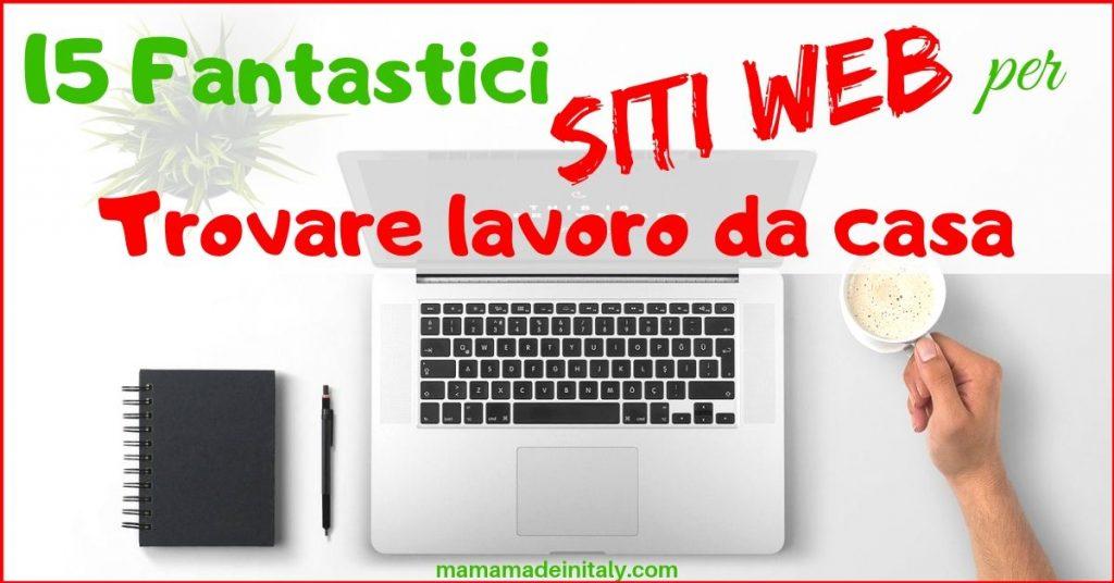 lavorare da casa con la web