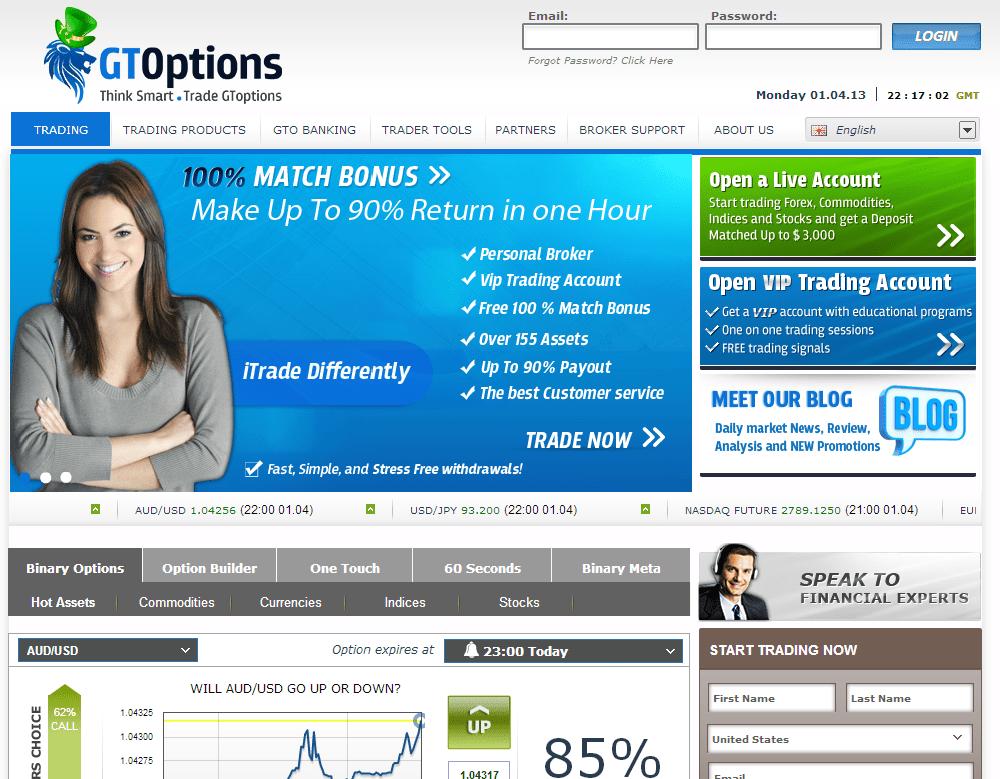 piattaforma opzioni binarie senza deposito