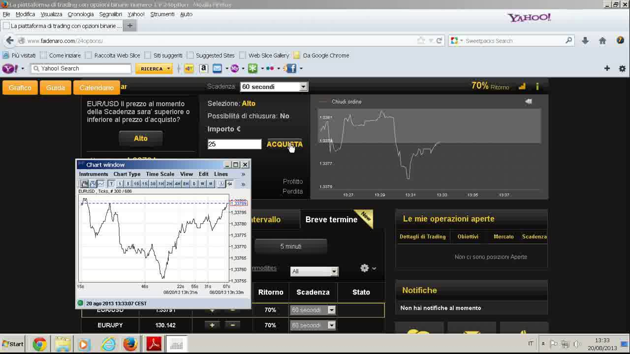 iq option 60 secondi guadagare soldi online