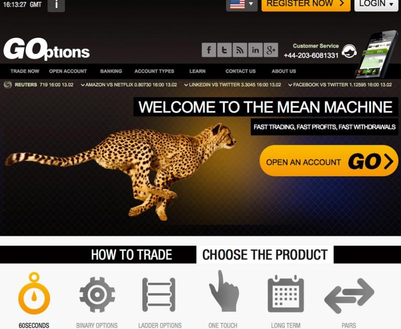 goptions com review opzioni binarie truffa le iene