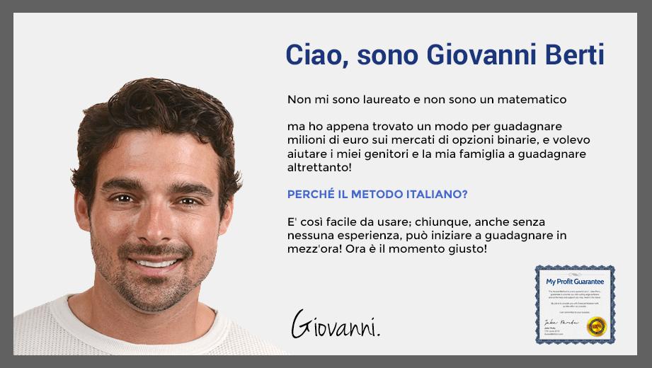 il metodo italiano opzioni binarie
