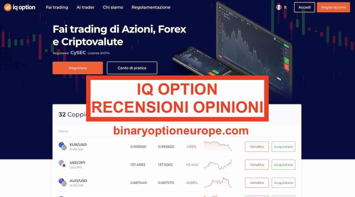 iqoption e legale in italia
