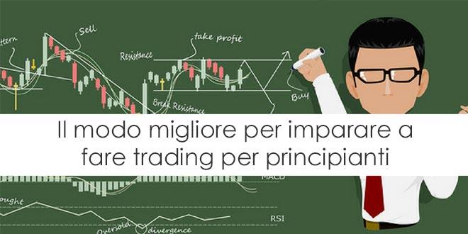 meodo per fare trading per principianti