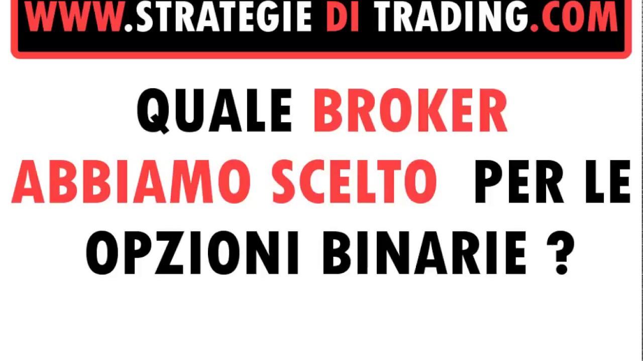 Benvenuti su Italia Opzioni Binarie