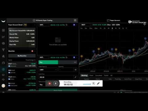 Online brokers paper trading free