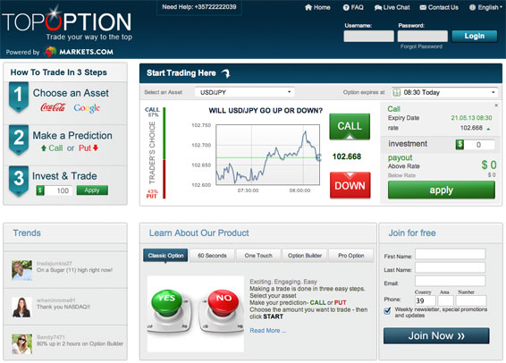 top option broker