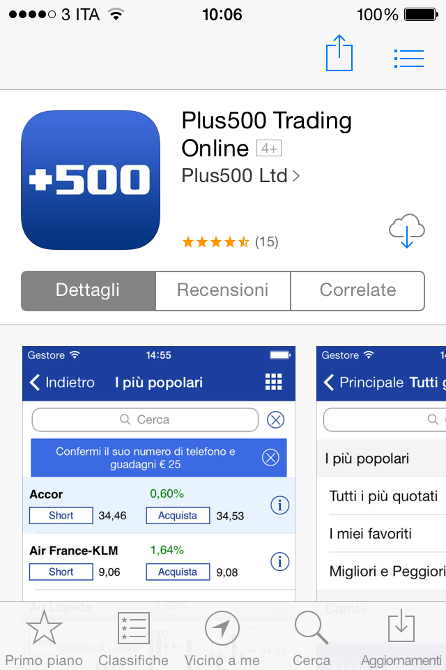 Trading Bonus senza deposito