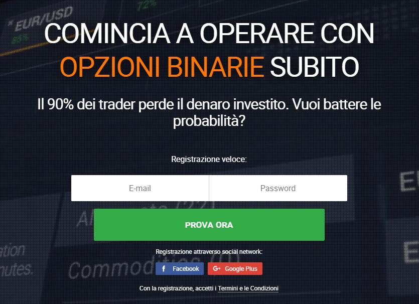 Opzioni Binarie Bonus Iscrizione 25 30 Dollari - Trading di opzioni binarie con il bonus