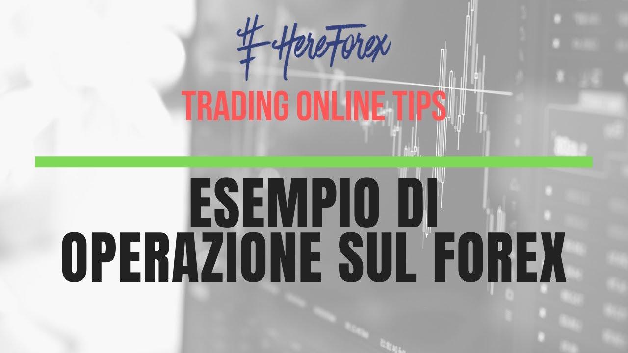 operazione di trading