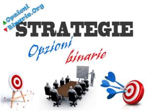 opzioni binarie strategie