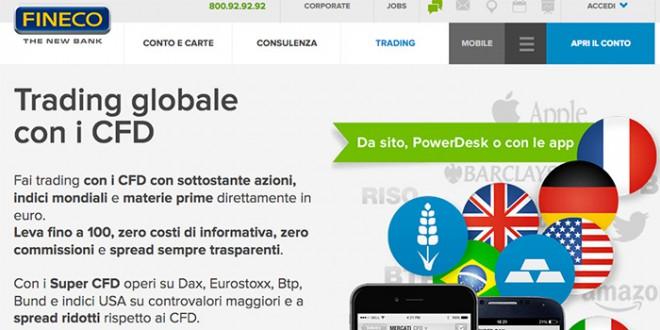 Trading Fineco demo, piattaforma e commissioni - Mercati24