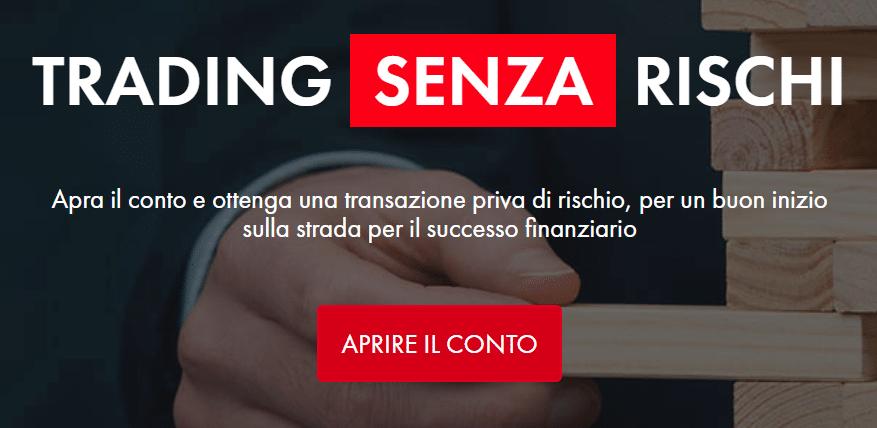 trading binario italiano sicuri al 100 opzioni binarie spiegazione